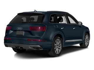 Ink Blue Metallic 2018 Audi Q7 Pictures Q7 2.0 TFSI Premium photos rear view