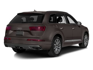 Argus Brown Metallic 2018 Audi Q7 Pictures Q7 2.0 TFSI Premium Plus photos rear view