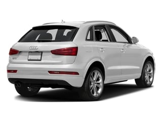 Glacier White Metallic 2018 Audi Q3 Pictures Q3 2.0 TFSI Sport Premium Plus FWD photos rear view