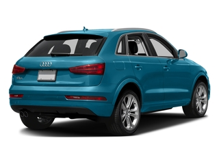 Hainan Blue Metallic 2018 Audi Q3 Pictures Q3 2.0 TFSI Sport Premium Plus FWD photos rear view