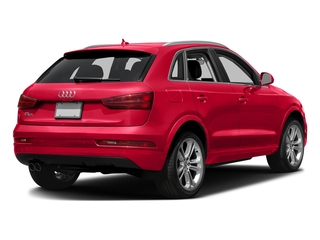 Misano Red Pearl Effect 2018 Audi Q3 Pictures Q3 2.0 TFSI Sport Premium Plus FWD photos rear view