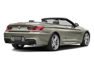 Moonstone Metallic 2018 BMW 6 Series Pictures 6 Series 650i xDrive Convertible photos rear view