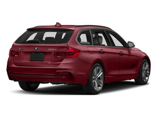 Melbourne Red Metallic 2018 BMW 3 Series Pictures 3 Series 328d xDrive Sports Wagon photos rear view