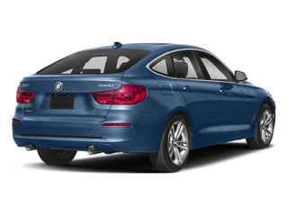 Estoril Blue Metallic 2018 BMW 3 Series Pictures 3 Series 340i xDrive Gran Turismo photos rear view