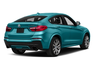 Long Beach Blue Metallic 2018 BMW X4 Pictures X4 M40i Sports Activity Coupe photos rear view