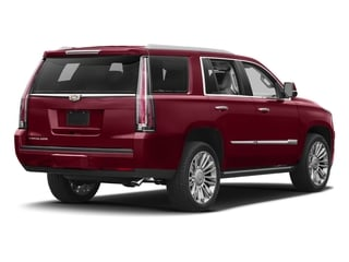 Red Passion Tintcoat 2018 Cadillac Escalade Pictures Escalade Utility 4D Platinum 4WD V8 photos rear view