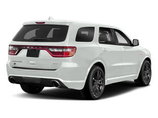 White Knuckle Clearcoat 2018 Dodge Durango Pictures Durango SRT AWD photos rear view