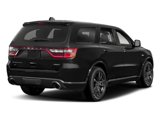 DB Black Clearcoat 2018 Dodge Durango Pictures Durango SRT AWD photos rear view
