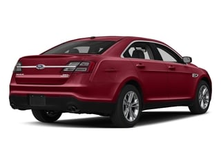 Ruby Red Metallic Tinted Clearcoat 2018 Ford Taurus Pictures Taurus Sedan 4D SEL AWD V6 photos rear view