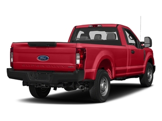 Race Red 2018 Ford Super Duty F-250 SRW Pictures Super Duty F-250 SRW XL 2WD Reg Cab 8' Box photos rear view
