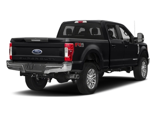Shadow Black 2018 Ford Super Duty F-350 SRW Pictures Super Duty F-350 SRW LARIAT 4WD Crew Cab 8' Box photos rear view