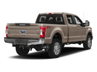 White Gold Metallic 2018 Ford Super Duty F-350 SRW Pictures Super Duty F-350 SRW LARIAT 4WD Crew Cab 8' Box photos rear view