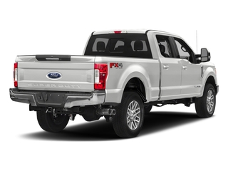 Oxford White 2018 Ford Super Duty F-350 SRW Pictures Super Duty F-350 SRW LARIAT 4WD Crew Cab 8' Box photos rear view