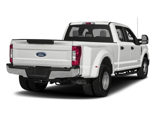 Oxford White 2018 Ford Super Duty F-350 DRW Pictures Super Duty F-350 DRW Crew Cab XL 2WD photos rear view