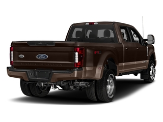 Magma Red Metallic 2018 Ford Super Duty F-350 DRW Pictures Super Duty F-350 DRW Crew Cab King Ranch 2WD photos rear view