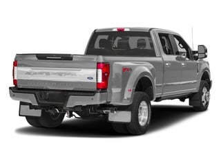 Ingot Silver Metallic 2018 Ford Super Duty F-350 DRW Pictures Super Duty F-350 DRW Platinum 4WD Crew Cab 8' Box photos rear view