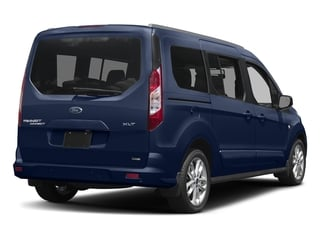 Deep Impact Blue Metallic 2018 Ford Transit Connect Wagon Pictures Transit Connect Wagon XLT SWB w/Rear Symmetrical Doors photos rear view