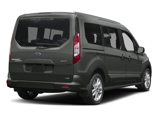 Magnetic Metallic 2018 Ford Transit Connect Wagon Pictures Transit Connect Wagon XLT SWB w/Rear Symmetrical Doors photos rear view