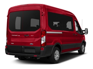 Race Red 2018 Ford Transit Passenger Wagon Pictures Transit Passenger Wagon Passenger Van XL Medium Roof photos rear view