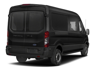 Magnetic Metallic 2018 Ford Transit Van Pictures Transit Van T-250 148 Med Rf 9000 GVWR Dual Dr photos rear view