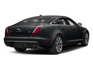 Santorini Black Metallic 2018 Jaguar XJ Pictures XJ XJL Portfolio RWD photos rear view