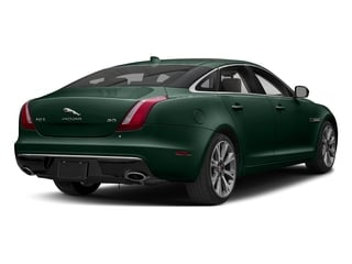 British Racing Green Metallic 2018 Jaguar XJ Pictures XJ XJL Portfolio RWD photos rear view