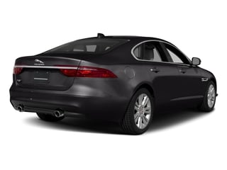 Santorini Black Metallic 2018 Jaguar XF Pictures XF Sedan 20d Premium RWD photos rear view