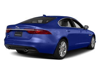 Caesium Blue Metallic 2018 Jaguar XF Pictures XF Sedan 35t Premium RWD *Ltd Avail* photos rear view