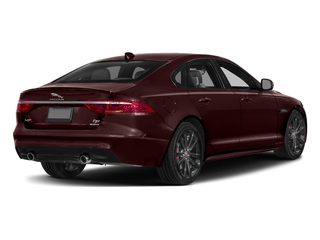 Rossello Red Metallic 2018 Jaguar XF Pictures XF Sedan S AWD photos rear view