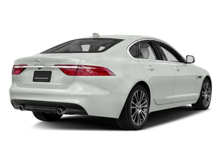 Fuji White 2018 Jaguar XF Pictures XF Sedan 30t Prestige RWD photos rear view