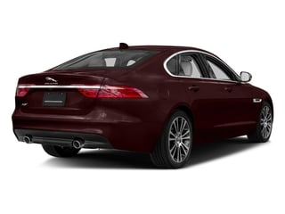 Rossello Red Metallic 2018 Jaguar XF Pictures XF Sedan 30t Prestige RWD photos rear view