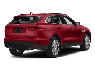 Firenze Red Metallic 2018 Jaguar F-PACE Pictures F-PACE 20d Premium AWD photos rear view