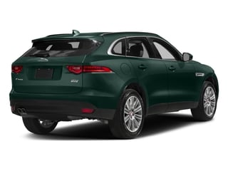 British Racing Green Metallic 2018 Jaguar F-PACE Pictures F-PACE 20d Premium AWD photos rear view