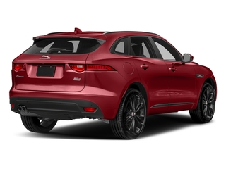 Firenze Red Metallic 2018 Jaguar F-PACE Pictures F-PACE 20d R-Sport AWD photos rear view