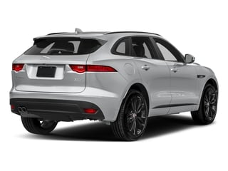 Yulong White Metallic 2018 Jaguar F-PACE Pictures F-PACE 20d R-Sport AWD photos rear view