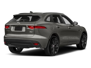 Silicon Silver 2018 Jaguar F-PACE Pictures F-PACE 20d R-Sport AWD photos rear view
