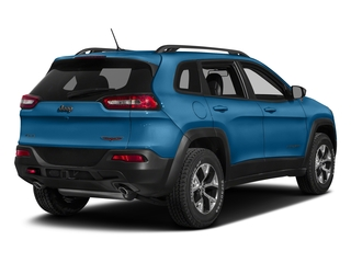 Hydro Blue Pearlcoat 2018 Jeep Cherokee Pictures Cherokee Utility 4D Trailhawk 4WD photos rear view