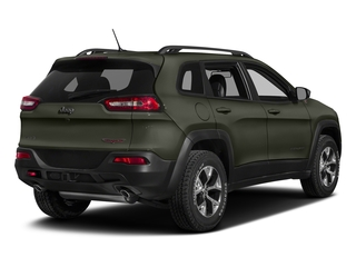 Olive Green Pearlcoat 2018 Jeep Cherokee Pictures Cherokee Utility 4D Trailhawk 4WD photos rear view