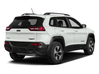 Bright White Clearcoat 2018 Jeep Cherokee Pictures Cherokee Utility 4D Trailhawk 4WD photos rear view