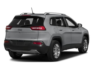Billet Silver Metallic Clearcoat 2018 Jeep Cherokee Pictures Cherokee Limited FWD photos rear view