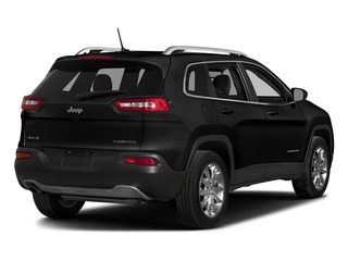 Diamond Black Crystal Pearlcoat 2018 Jeep Cherokee Pictures Cherokee Utility 4D Limited 2WD photos rear view