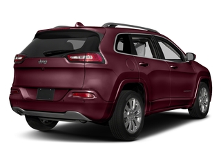 Velvet Red Pearlcoat 2018 Jeep Cherokee Pictures Cherokee Utility 4D Overland 4WD photos rear view