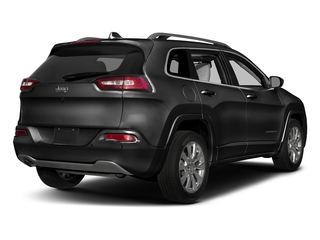 Diamond Black Crystal Pearlcoat 2018 Jeep Cherokee Pictures Cherokee Utility 4D Overland 4WD photos rear view