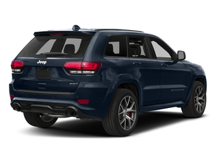 True Blue Pearlcoat 2018 Jeep Grand Cherokee Pictures Grand Cherokee Utility 4D SRT-8 4WD photos rear view