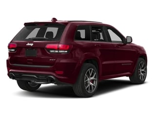 Velvet Red Pearlcoat 2018 Jeep Grand Cherokee Pictures Grand Cherokee Utility 4D SRT-8 4WD photos rear view