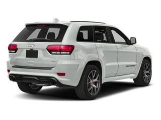 Bright White Clearcoat 2018 Jeep Grand Cherokee Pictures Grand Cherokee Utility 4D SRT-8 4WD photos rear view