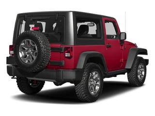 Firecracker Red Clearcoat 2018 Jeep Wrangler JK Pictures Wrangler JK Utility 2D Rubicon Recon 4WD V6 photos rear view