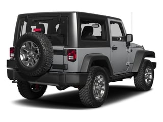 Billet Silver Metallic Clearcoat 2018 Jeep Wrangler JK Pictures Wrangler JK Utility 2D Rubicon Recon 4WD V6 photos rear view
