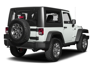Bright White Clearcoat 2018 Jeep Wrangler JK Pictures Wrangler JK Utility 2D Rubicon Recon 4WD V6 photos rear view