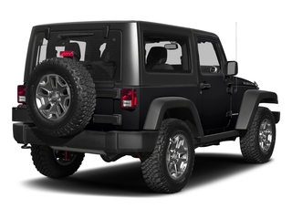 Black Clearcoat 2018 Jeep Wrangler JK Pictures Wrangler JK Utility 2D Rubicon Recon 4WD V6 photos rear view